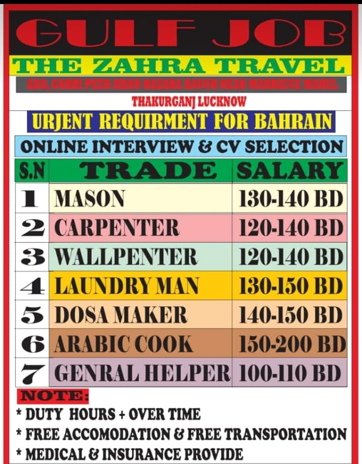 Assignment abroad times | Latest job vacancies for Gulf, Qty - 400+