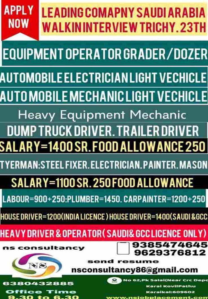 Gulf Jobs for Saudi Arabia