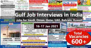 Gulf job paper jobs | Latest Gulf job vacancies in India
