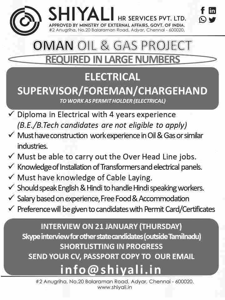 Gulf job paper jobs | Latest Gulf job vacancies in India