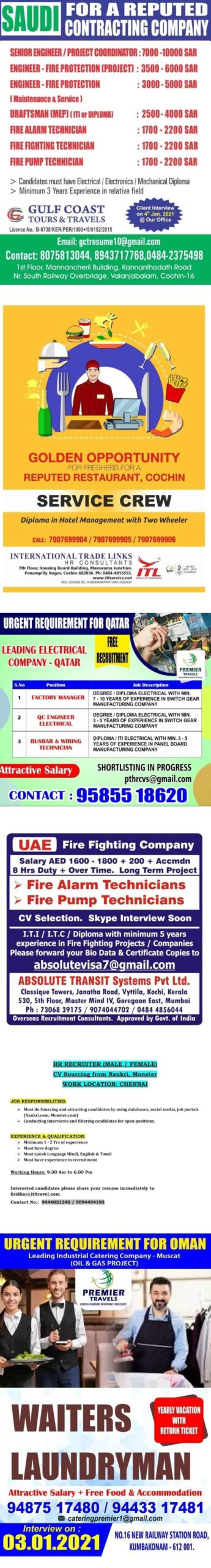 Overseas assignments India
