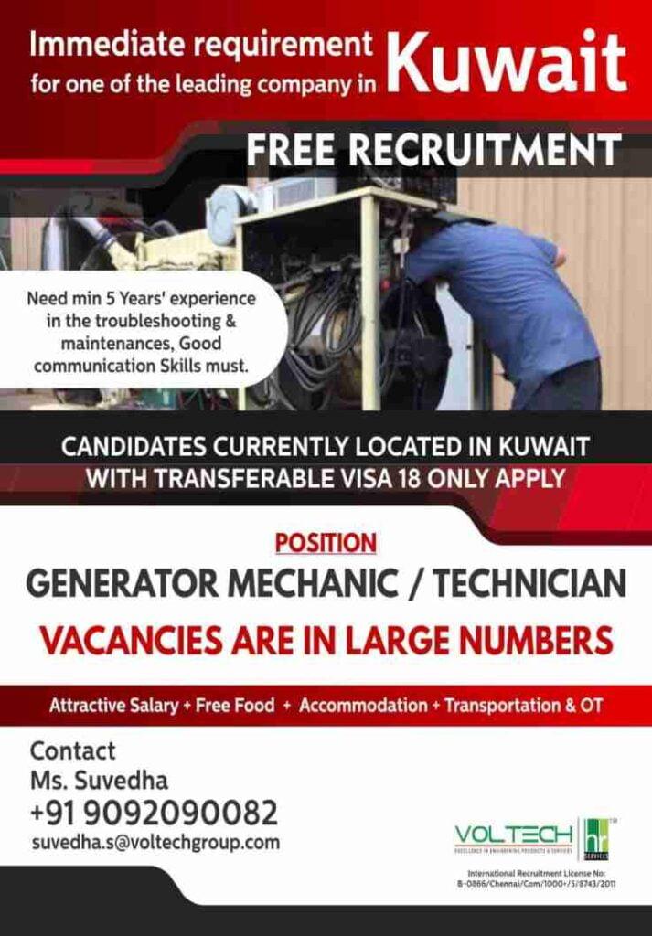 Overseas employment news India - 600+ Gulf job vacancies