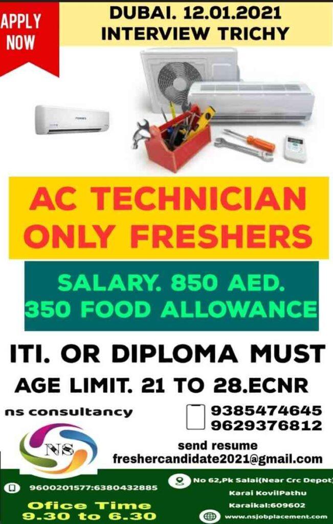 Ac technician jobs