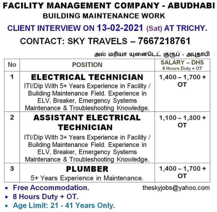 Assignment abroad jobs - 1100+ Gulf job vacancies