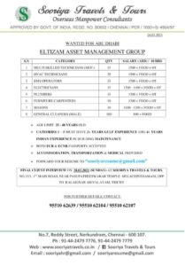 Gulf jobs | Eltizam Asset management group in Abu-Dhabi – 200+ seats