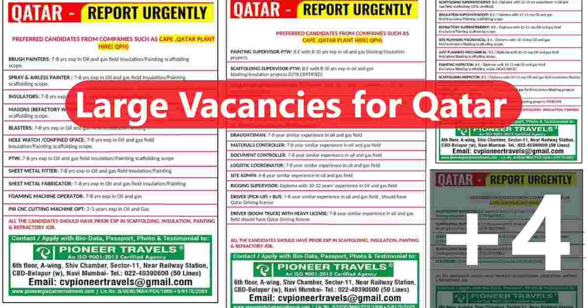 Gulfwalkin – Scaffolding, Insulation, Painting, and Refractory job in Qatar
