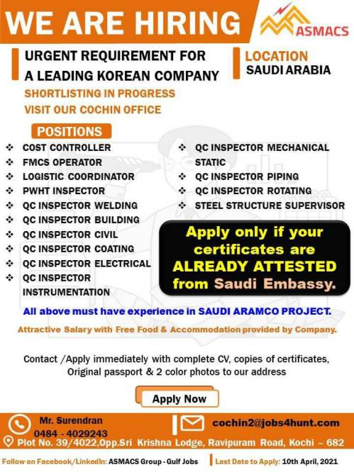 Gulf jobs - Latest job vacancies in Saudi