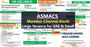 Overseas Employment News - Job vacancies for UAE and Saudi Arabia