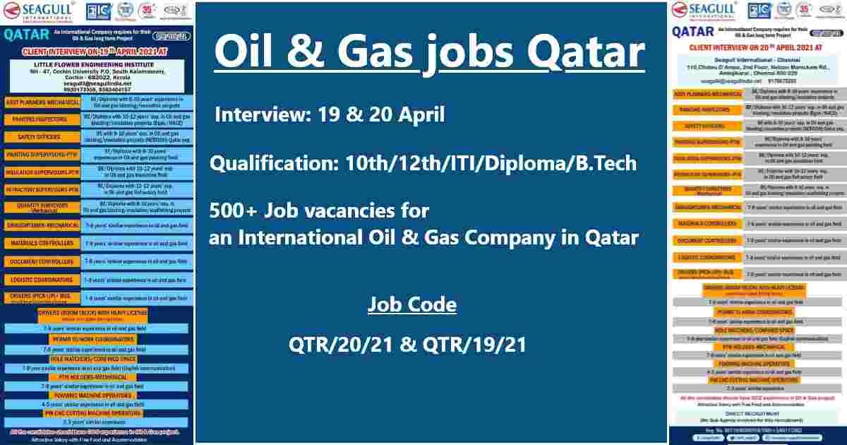 Qatar job vacancy
