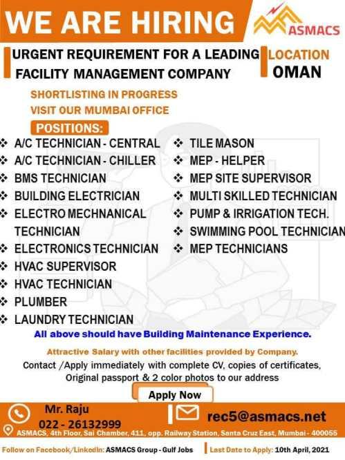 Gulf jobs - Latest job vacancies in Oman