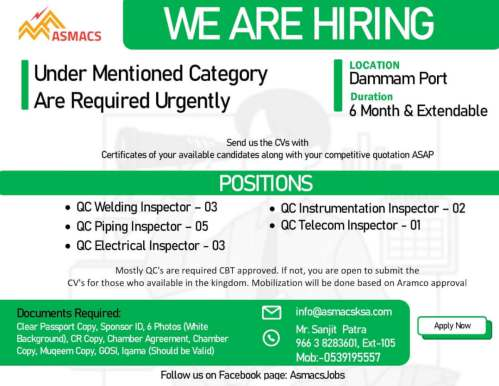 Abroad jobs | Latest Gulf job interviews in India - 2000+ Seats