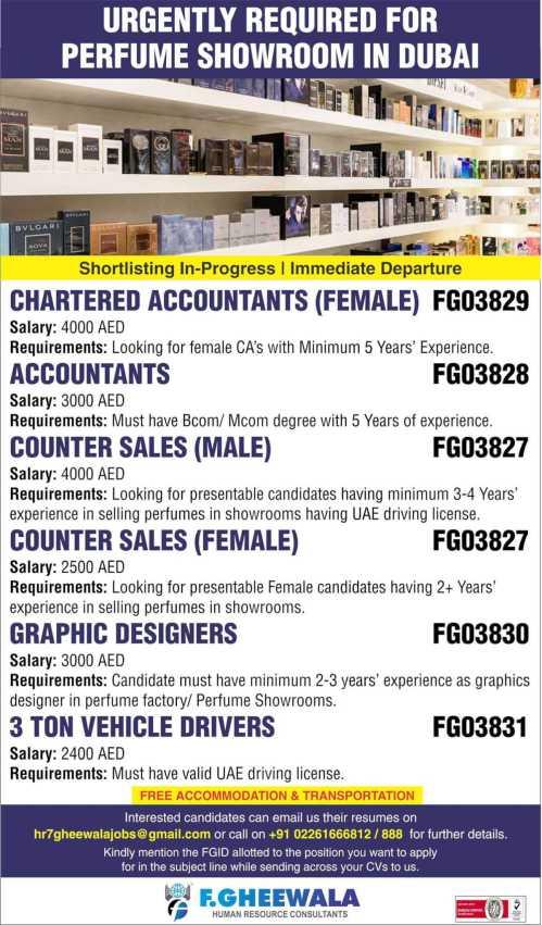 Assignment Abroad Jobs - Latest jobs for Dubai, Saudi Arabia, Bahrain