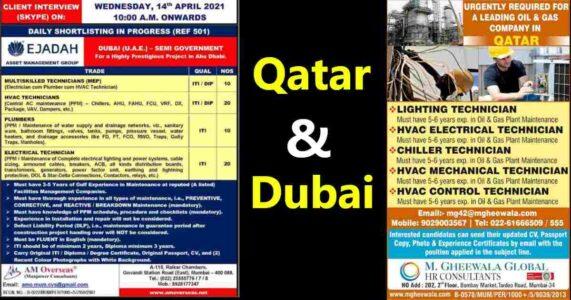 Gulf Jobs – Large job vacancies for Oil & Gas Qatar & Ejadah UAE