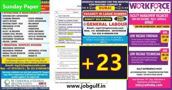 Assignment Abroad Newspaper jobs India – 600+ jobs