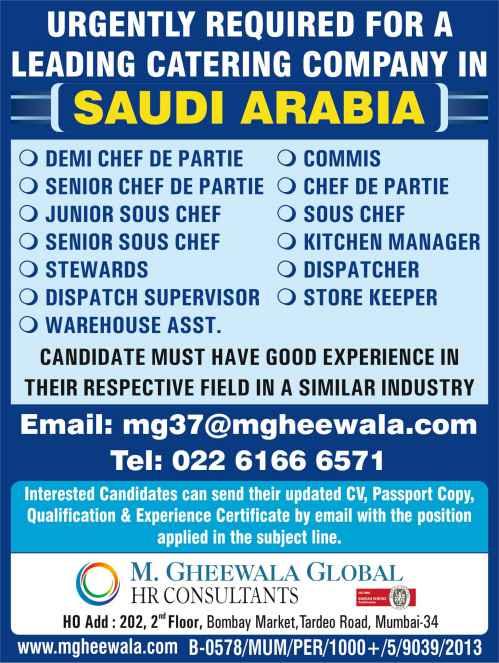Gulfwalkin Mumbai | 400+ vacancies for Saudi, Qatar, Kuwait