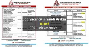 El seif company job vacancy