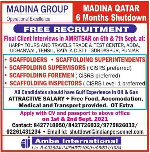 Gulfwalkin jobs - Hiring for Dubai, Qatar & Bahrain