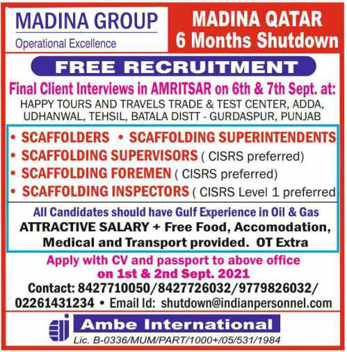 Gulfwalkin - Job vacancies for UAE, Qatar & Saudi Arabia