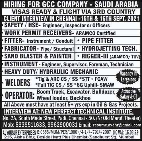 GCC Company - Saudi Arabia