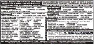 Hr International jobs