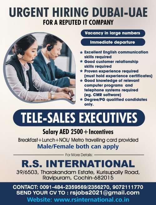 Job vacancy for Gulf - Oman, Saudi, UAE, Kuwait, Qatar, Lebanon