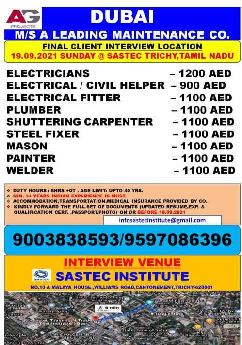 Maintenace Company Dubai