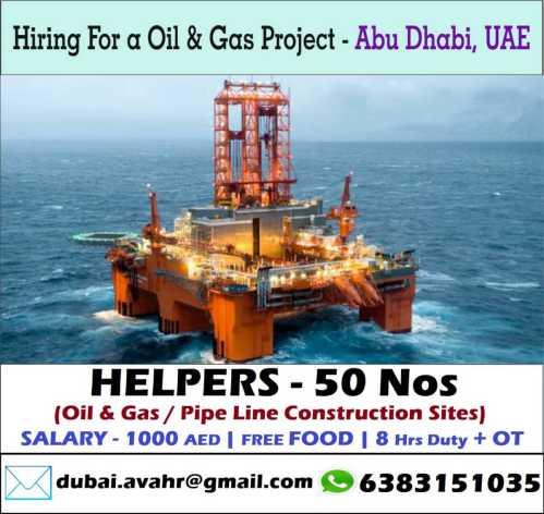 Oil & Gas Project - Abu Dhabi