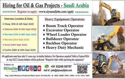 Overseas Gulf jobs - Requirements for Saudi, Qatar, Oman
