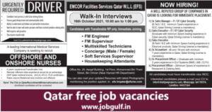 Qatar free job vacancies - Qatar living jobs